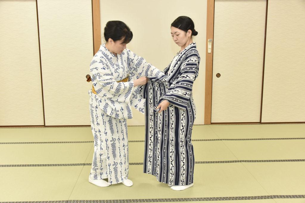 日本舞踊教室の「着付けコース」はまさに一石二鳥!